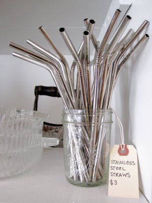 Stainless-steel-reusable-straws-no-more-plastic-So-excited-for-these-so-cheap